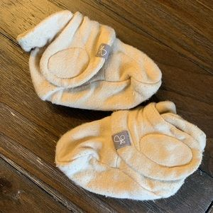 Goumi Baby Booties, size 0-3 months